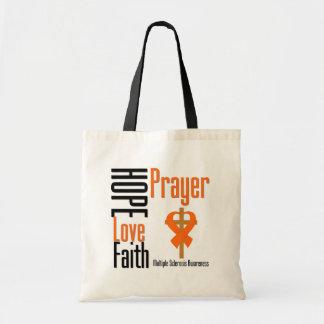 Multiple Sclerosis Hope Love Faith Prayer Cross Bags