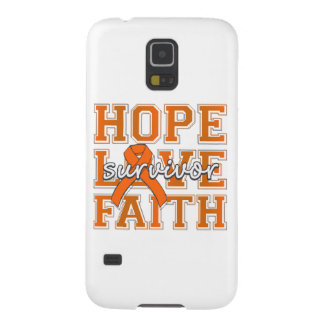 Multiple Sclerosis Hope Love Faith Survivor Galaxy S5 Covers