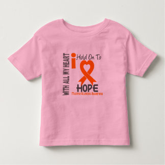 Multiple Sclerosis I Hold On To Hope Tshirt