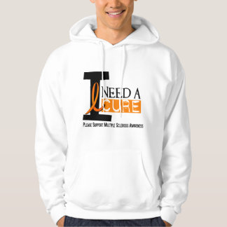 Multiple Sclerosis I NEED A CURE 1 Hoodie