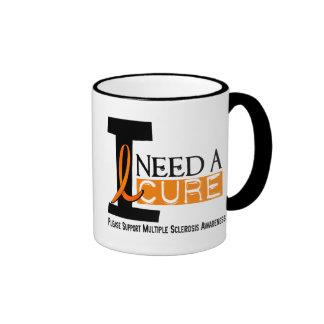 Multiple Sclerosis I NEED A CURE 1 Coffee Mugs