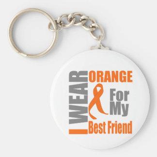 Multiple Sclerosis I Wear Orange Best Friend Keychains