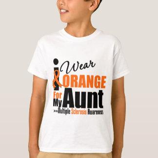 Multiple Sclerosis I Wear Orange For My Aunt T-Shirt