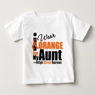 Multiple Sclerosis I Wear Orange For My Aunt Tee Shirt