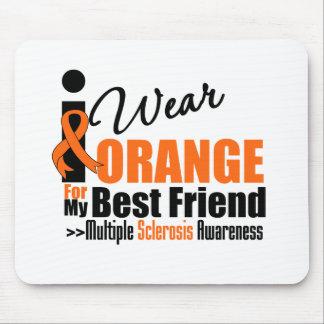 Multiple Sclerosis I Wear Orange For My Best Frien Mouse Mat