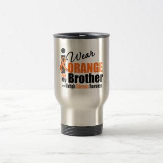 Multiple Sclerosis I Wear Orange For My Brother Coffee Mug