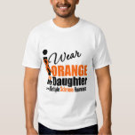 Multiple Sclerosis I Wear Orange For My Daughter T Shirt