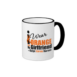Multiple Sclerosis I Wear Orange For My Girlfriend Mug