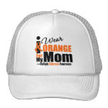 Multiple Sclerosis I Wear Orange For My Mom Trucker Hat