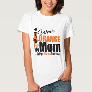 Multiple Sclerosis I Wear Orange For My Mom Shirts