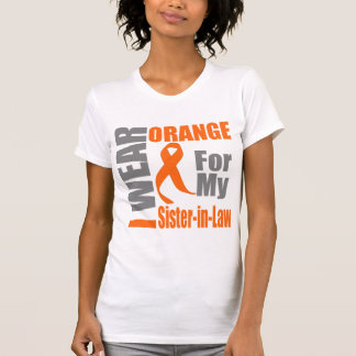 Multiple Sclerosis I Wear Orange Sister-in-Law T-shirt