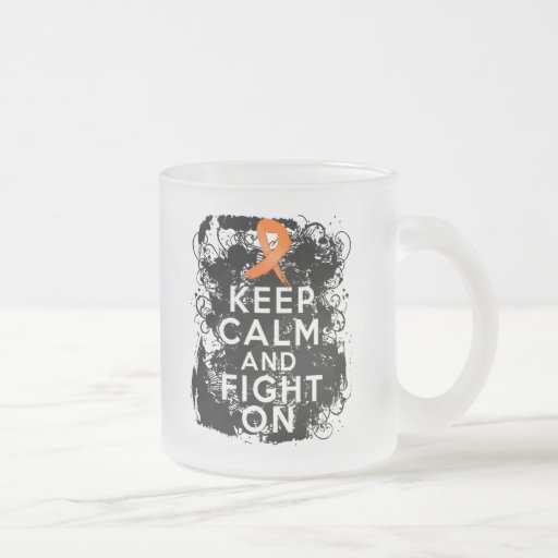 Multiple Sclerosis Keep Calm and Fight On Mugs