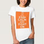 Multiple Sclerosis Keep Calm and Fight On T Shirt
