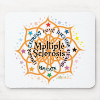 Multiple Sclerosis Lotus Mouse Pad
