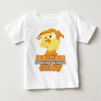 Multiple Sclerosis Messed With The Wrong Chick Baby T-Shirt