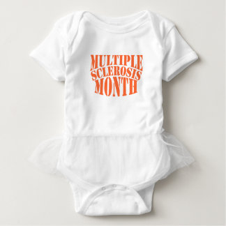 Multiple Sclerosis Month - Appreciation Day Baby Bodysuit