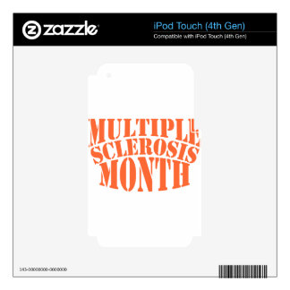 Multiple Sclerosis Month - Appreciation Day Decal For iPod Touch 4G