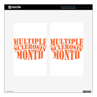 Multiple Sclerosis Month - Appreciation Day Skins For Kindle Fire