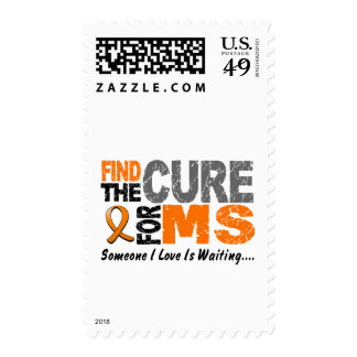 Multiple Sclerosis MS Find The Cure 1 Stamp