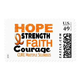 Multiple Sclerosis MS HOPE 3 Postage Stamp