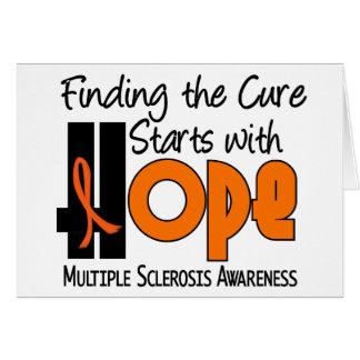 Multiple Sclerosis MS HOPE 4 Card