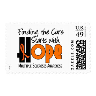 Multiple Sclerosis MS HOPE 4 Stamps