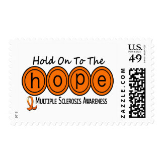 Multiple Sclerosis MS HOPE 6 Postage Stamps