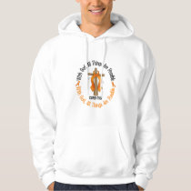 Multiple Sclerosis MS WITH GOD CROSS 1 Hoodie