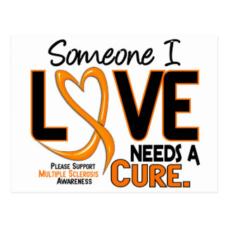 Multiple Sclerosis NEEDS A CURE 2 Postcard