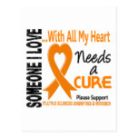 Multiple Sclerosis Needs A Cure 3 Postcard