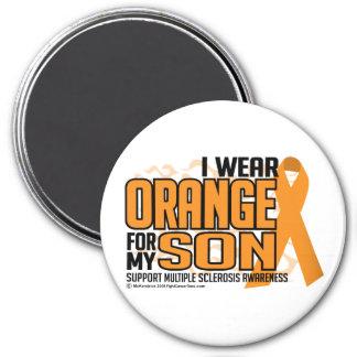 Multiple Sclerosis Orange for Son Magnet