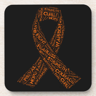 Multiple Sclerosis Ribbon Products Coaster