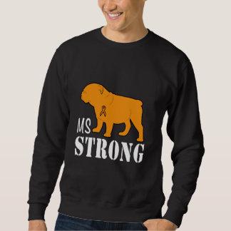 Multiple Sclerosis Strong with Bulldog Sweatshirt