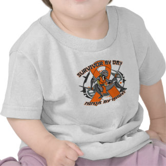 Multiple Sclerosis Survivor By Day Ninja By Night Tshirts