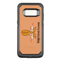 Multiple Sclerosis Swans of Hope OtterBox Commuter Samsung Galaxy S8 Case