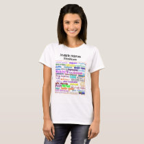 Multiple Sclerosis Symptoms T-Shirt