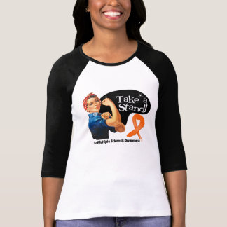Multiple Sclerosis Take a Stand Tshirt