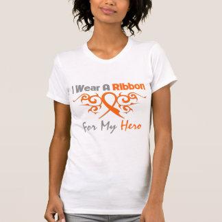 Multiple Sclerosis Tribal Deco Ribbon Hero Shirt
