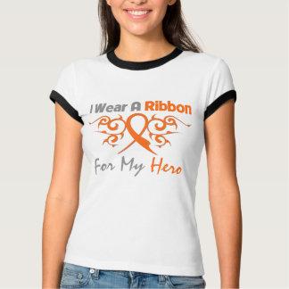 Multiple Sclerosis Tribal Deco Ribbon Hero Tshirt