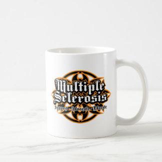 Multiple Sclerosis Tribal Classic White Coffee Mug
