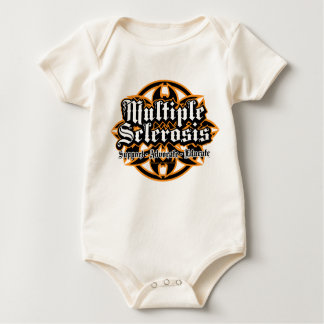 Multiple Sclerosis Tribal Baby Bodysuits