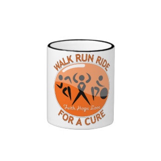 Multiple Sclerosis Walk Run Ride For A Cure Ringer Coffee Mug