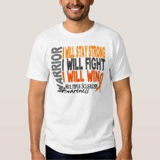 Multiple Sclerosis Warrior Tee Shirt