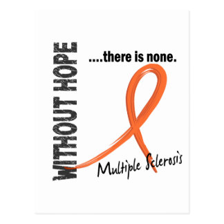 Multiple Sclerosis Without Hope 1 Postcard