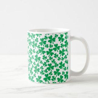 Multiple Shamrocks Mug