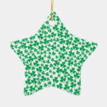 Multiple Shamrocks Ornament