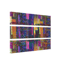 Multiple Style and Color Pattern Canvas Print
