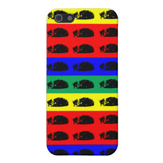 Multiple Tabby Cat Pop Art Covers For iPhone 5