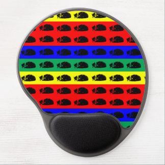 Multiple Tabby Cat Pop Art Gel Mouse Pad