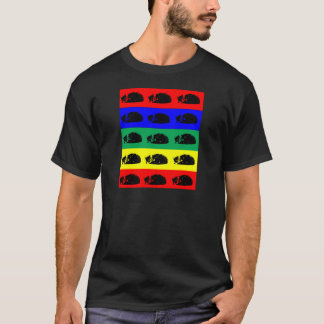 Multiple Tabby Cat Pop Art Shirt